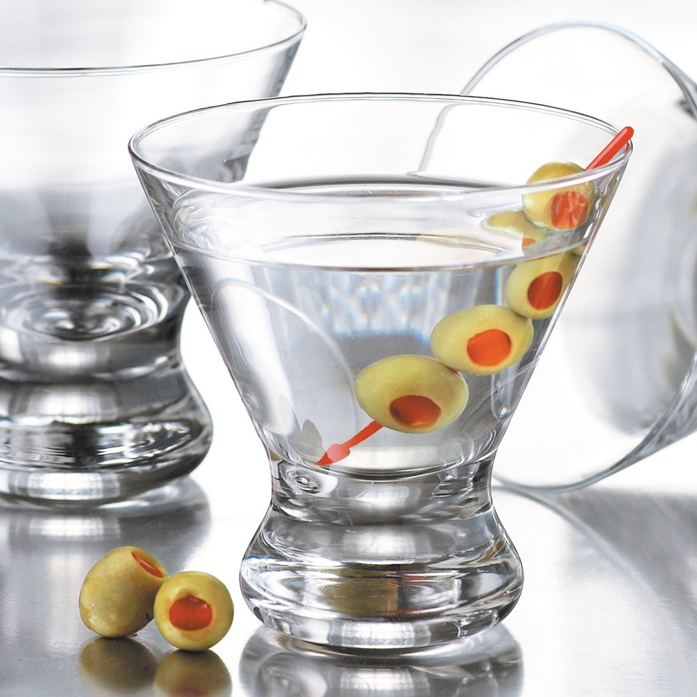 image preview - Stemless Martini Glasses