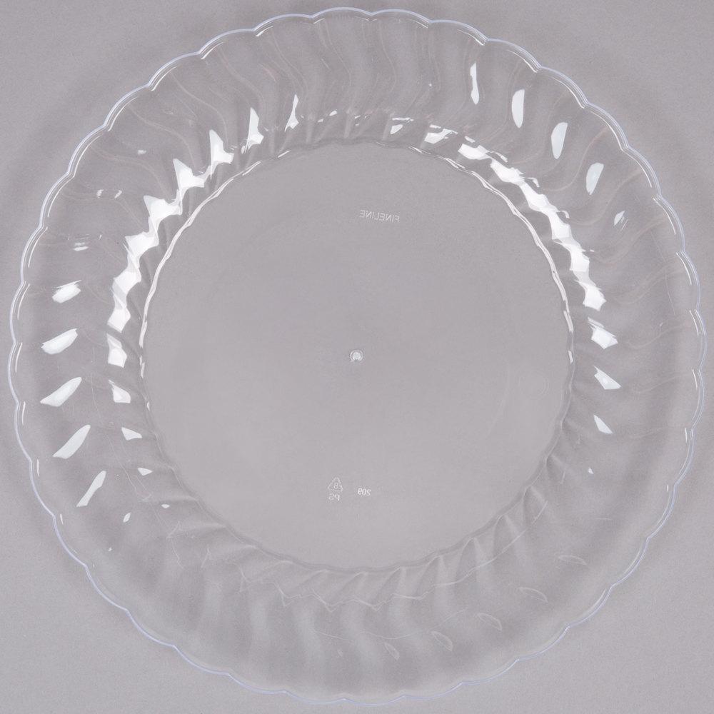 Plastic Wedding Plates Elegant Disposable Plates