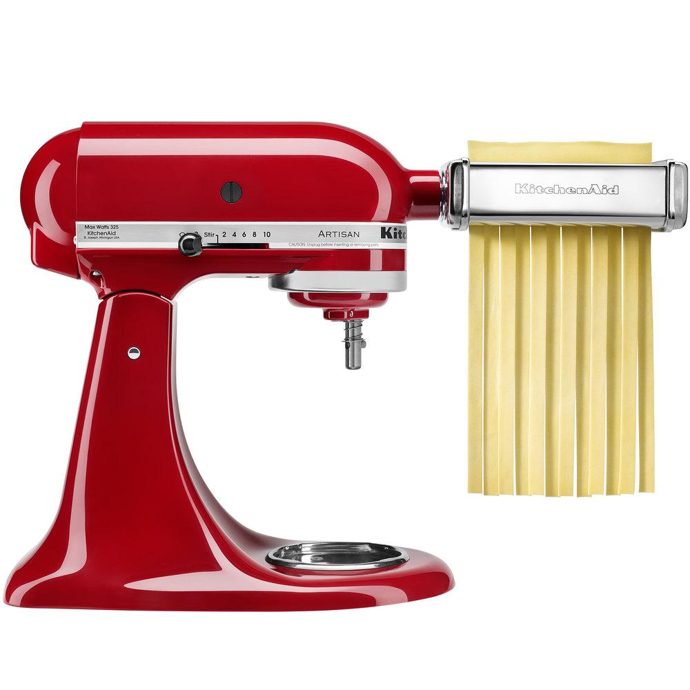 KitchenAid KSMPCA Pasta Cutter Attachment Set for KitchenAid Stand ...