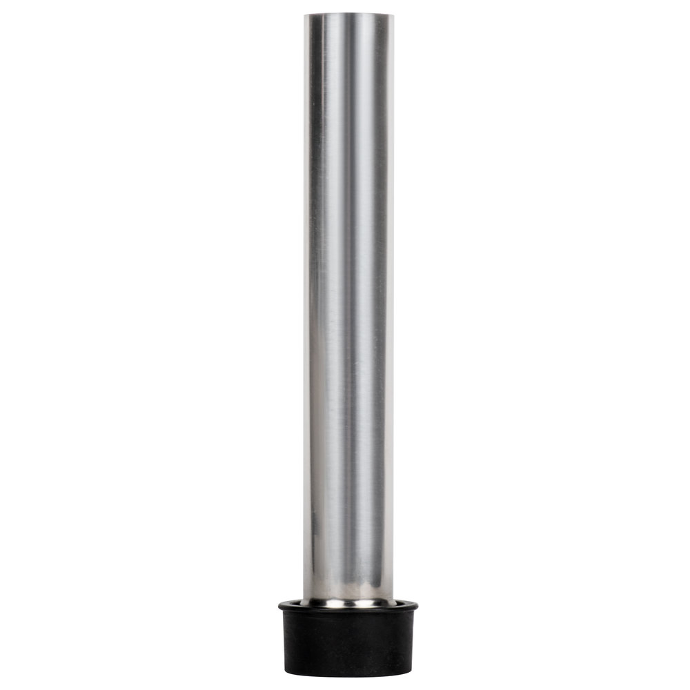 Regency 8 inch Stainless Steel Overflow Pipe for 1 1/2 inch Drains