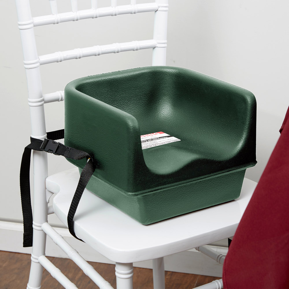 Cambro 100bcs519 Green Plastic Booster Seat Single Seat