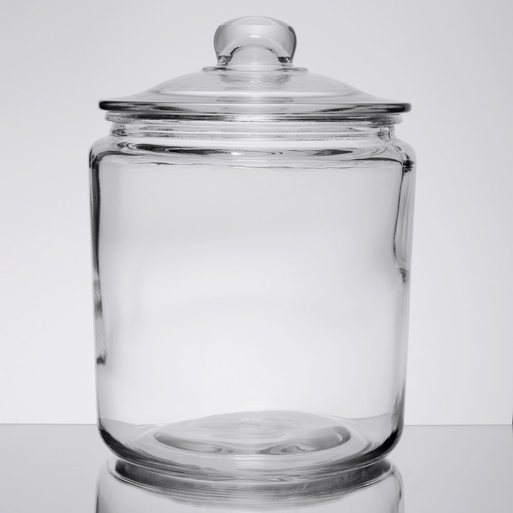 Ideal Candy Glass Jars with Lids | Wholesale Candy Glass Jars MZ88