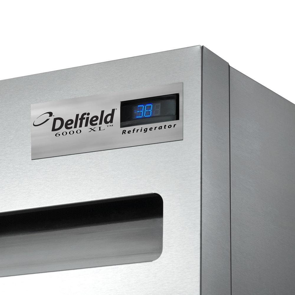 Delfield 6125xl S 26 Quot One Section Solid Door Reach In