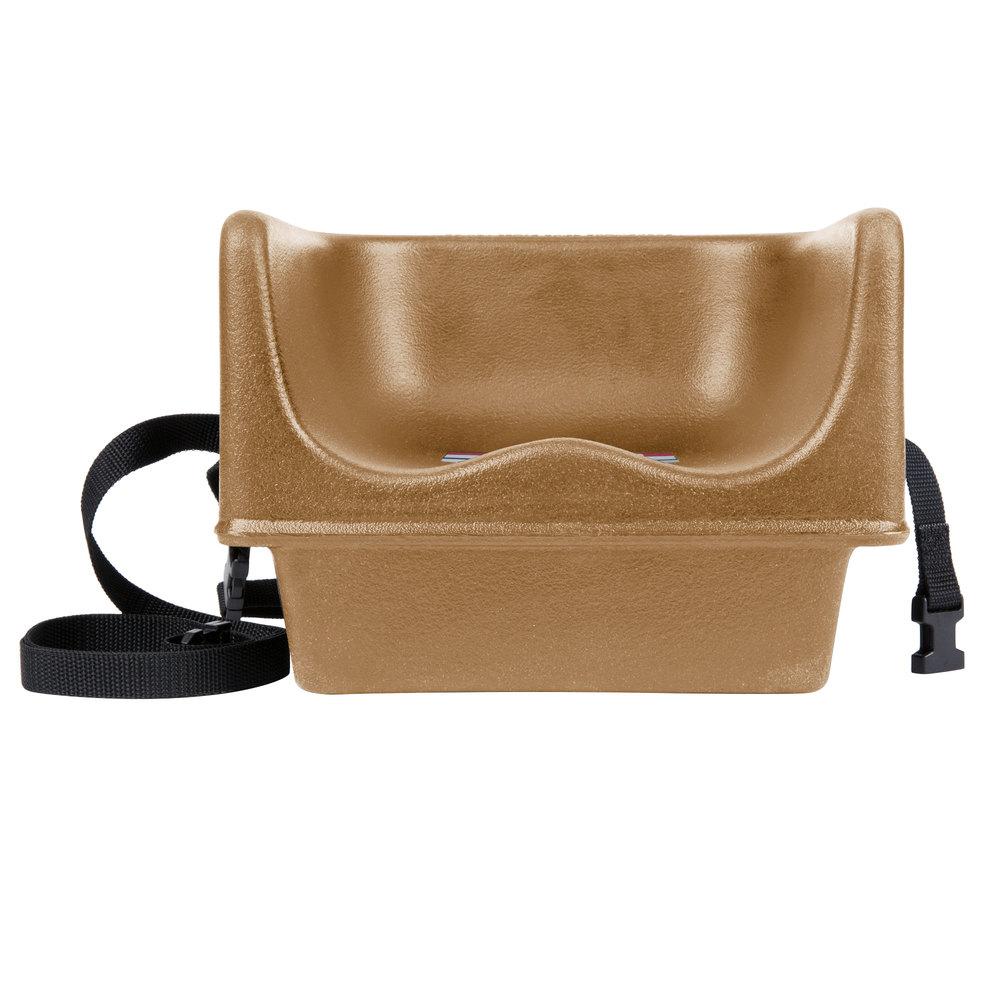 Cambro 100bcs157 Beige Plastic Booster Seat Single Seat