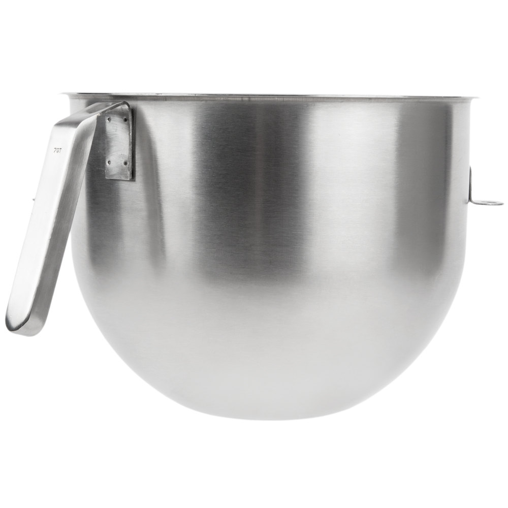 KitchenAid KSMC7QBOWL 7 Qt. Stainless Steel Mixing Bowl with ...