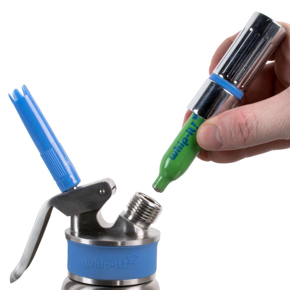 Whip It Dispenser ~ Whip it sv n o cartridge for cream whippers
