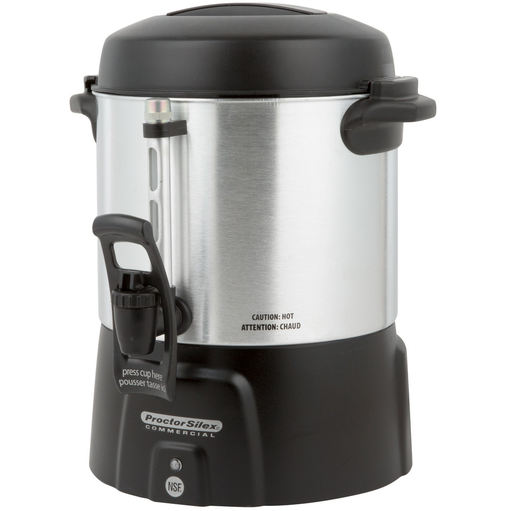 Proctor Silex 45040 40 Cup 1 6 Gallon Coffee Urn