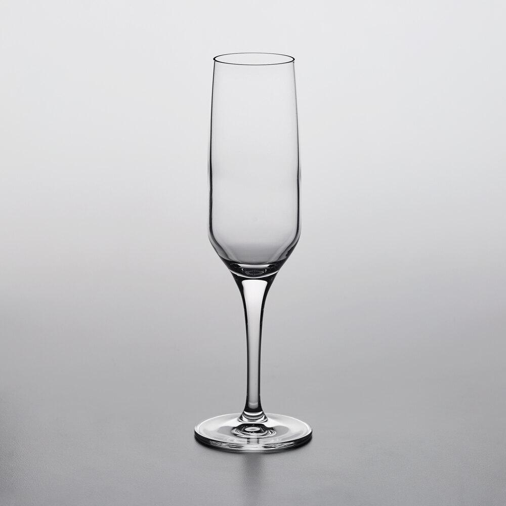 Nude 67026-024 Fame 7 oz. Flute Glass - 24/Case