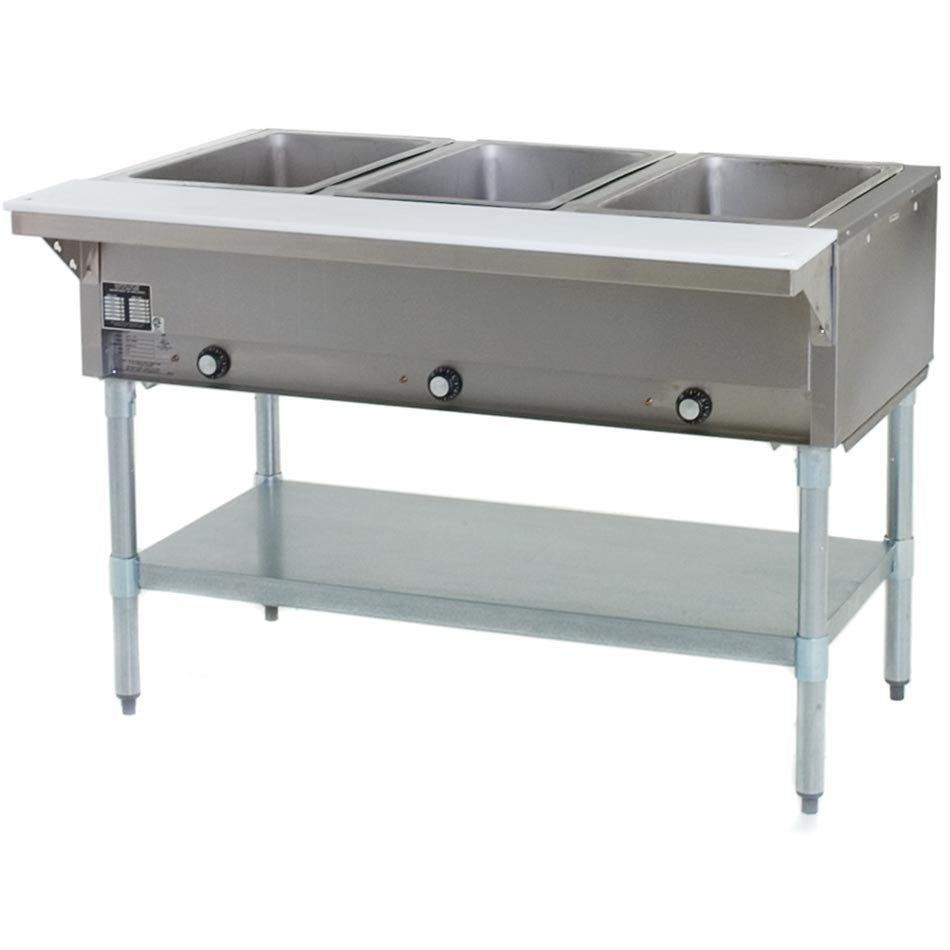 Natural Gas Eagle Group Sht3 Steam Table Three Pan All