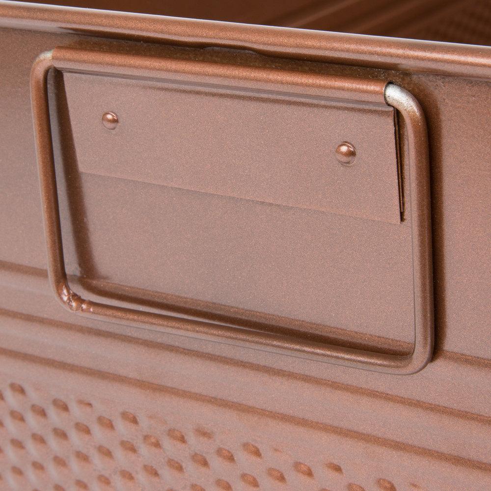 American Metalcraft Bev1220 Full Size Copper Rectangular