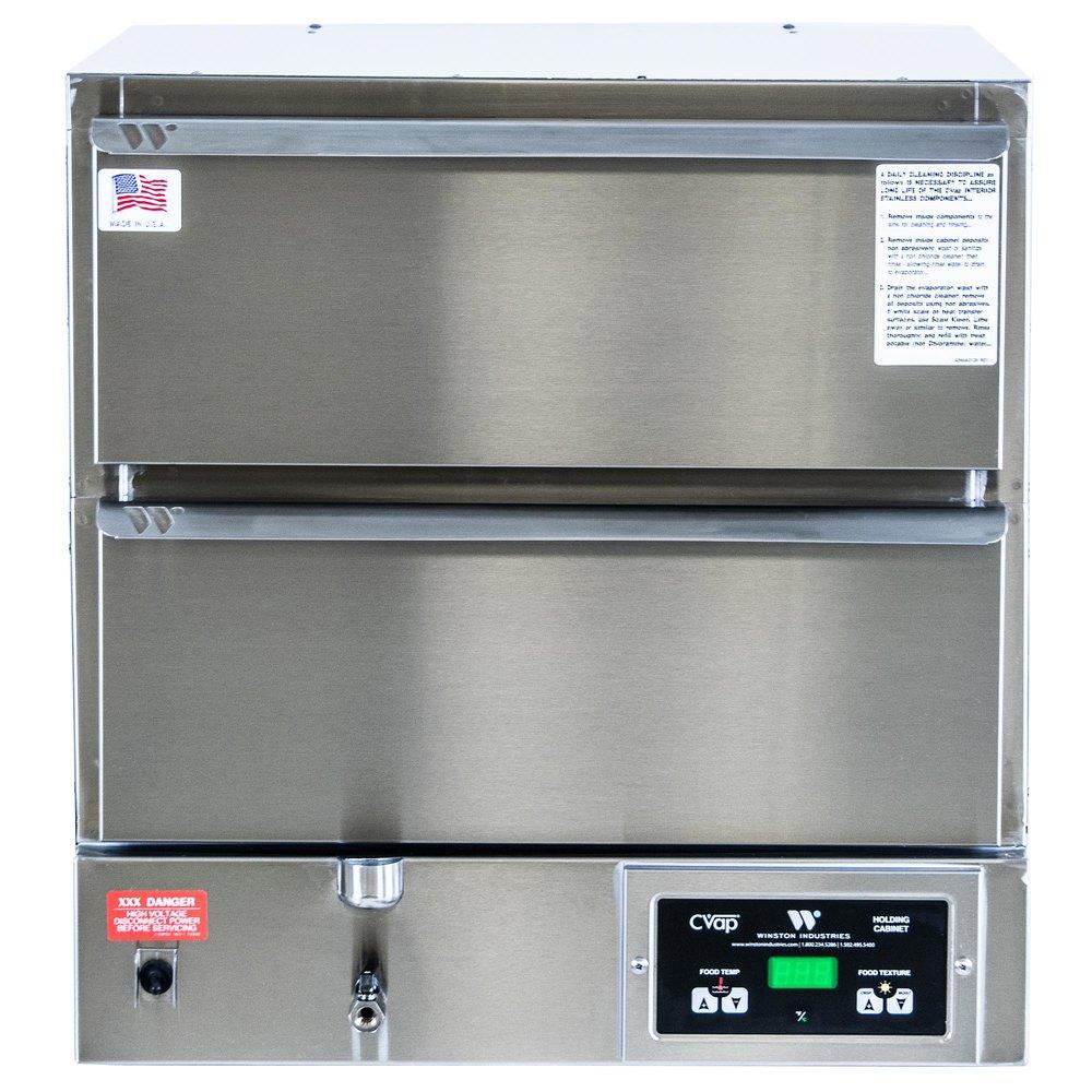 winston industries hbb0d2 cvap hold  u0026 serve two drawer