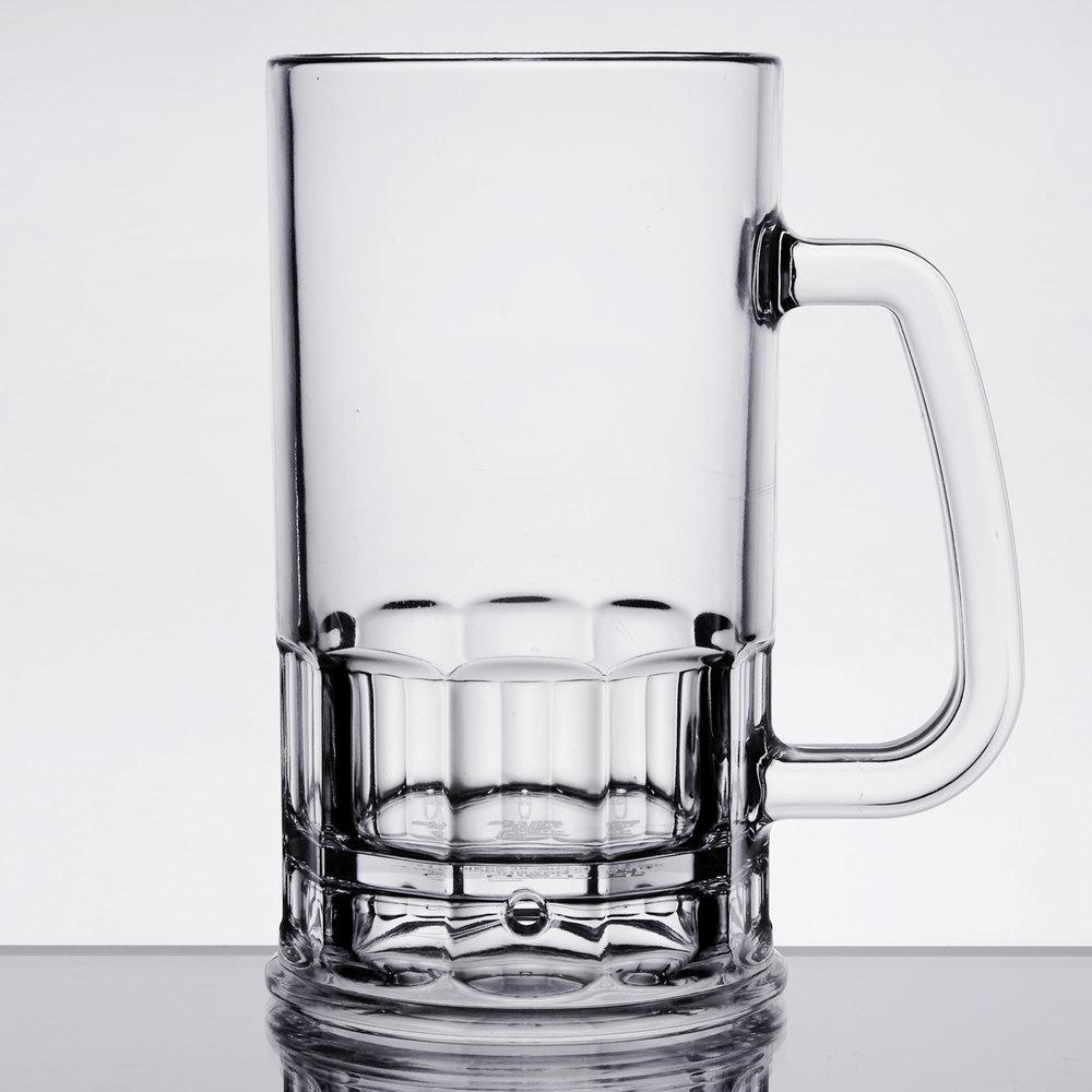 Plastic Beer Mugs | GET 00083 20 oz  SAN Plastic Beer Mug 24