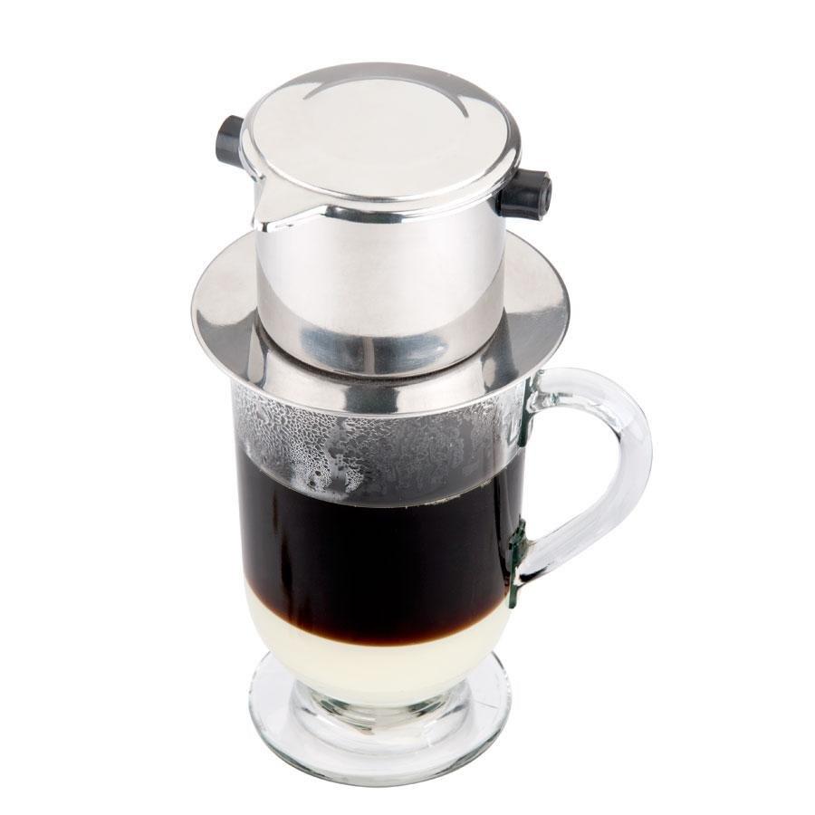 Single Serving Stainless Steel Vietnamese Coffee Press