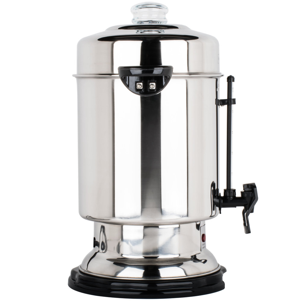 Large Coffee Urn 60 Cup Commercial Stainless Steel Maker Brewer Dispenser Warm