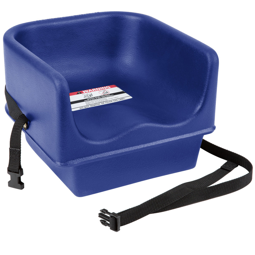 Cambro 100bcs186 Navy Blue Plastic Booster Seat Single