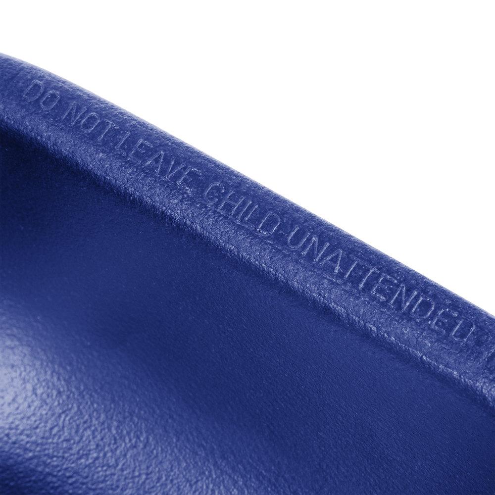 Cambro 100bcs186 Navy Blue Plastic Booster Seat Single