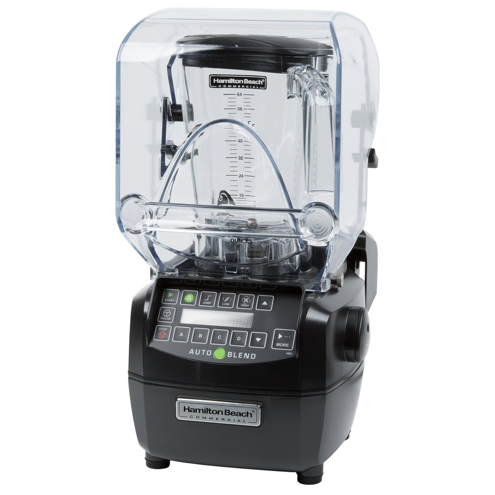 hamilton beach hbh850 summit 3 hp 64 oz high performance bar blender 120v. Black Bedroom Furniture Sets. Home Design Ideas