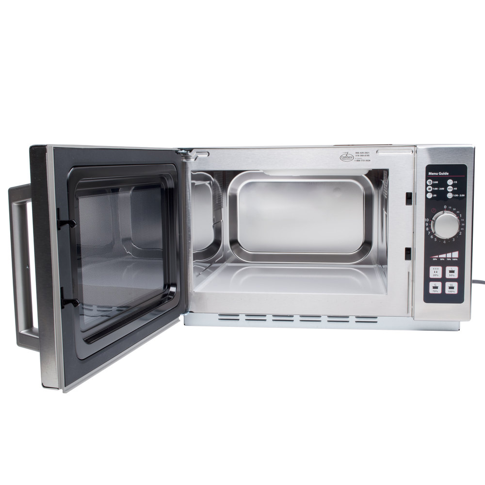 Amana Rcs10dse Medium Volume Stainless Steel Commercial Microwave 120v 1000w Main Picture Image Preview
