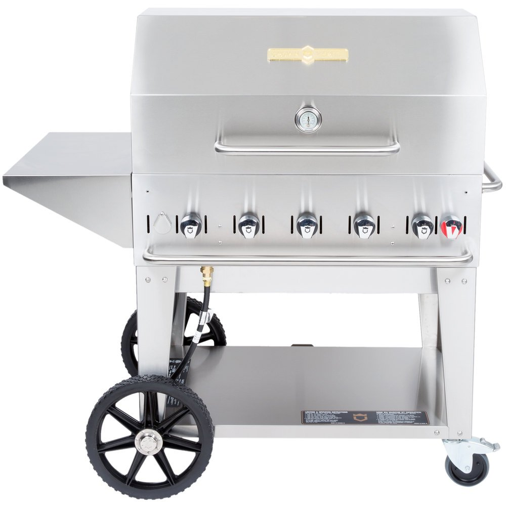 ... Propane Portable Outdoor BBQ Grill / Charbroiler With Roll. Main  Picture ...
