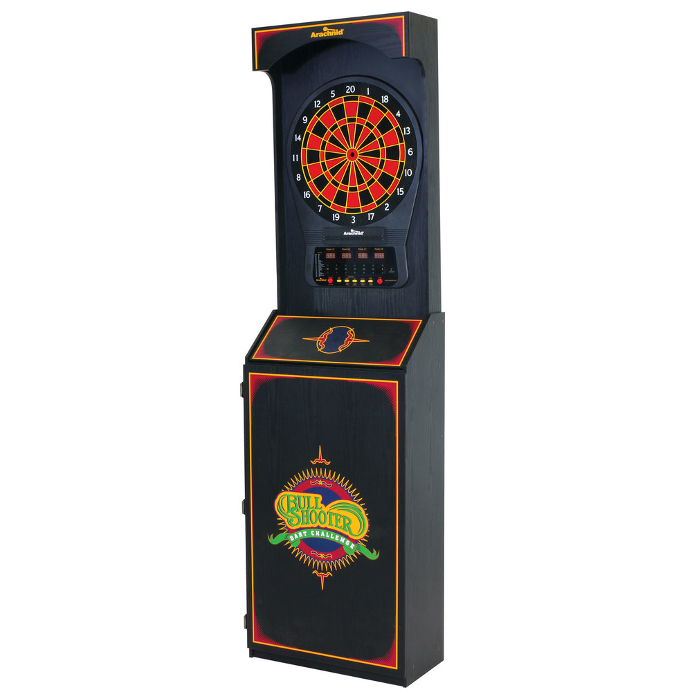 ... Electronic Dart Game In Arcade Style Cabinet. Main Picture; Image  Preview ...