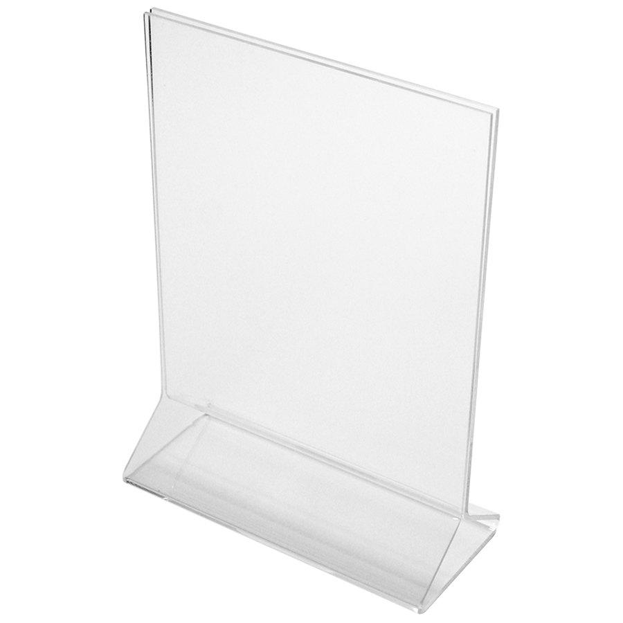 Plastic Table Tents WebstaurantStore - Plastic table tents