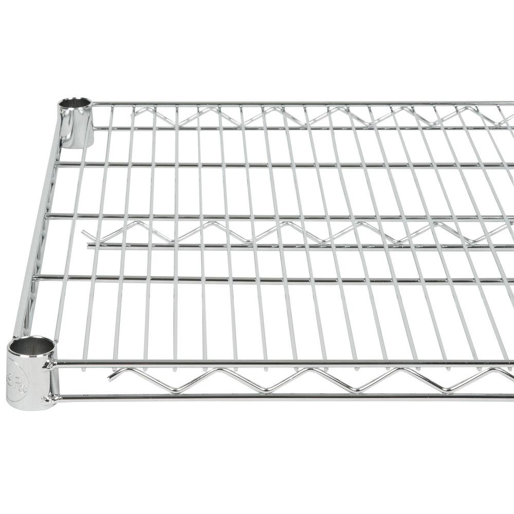 Regency 21 inch x 72 inch NSF Chrome Wire Shelf