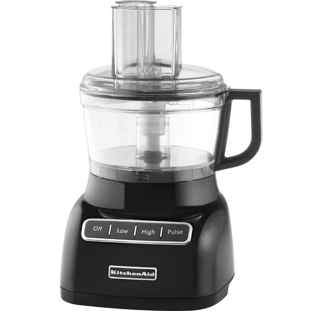 Kitchenaid kfp0711ob onyx black 7 cup food processor - Kitchenaid food processor opinioni ...