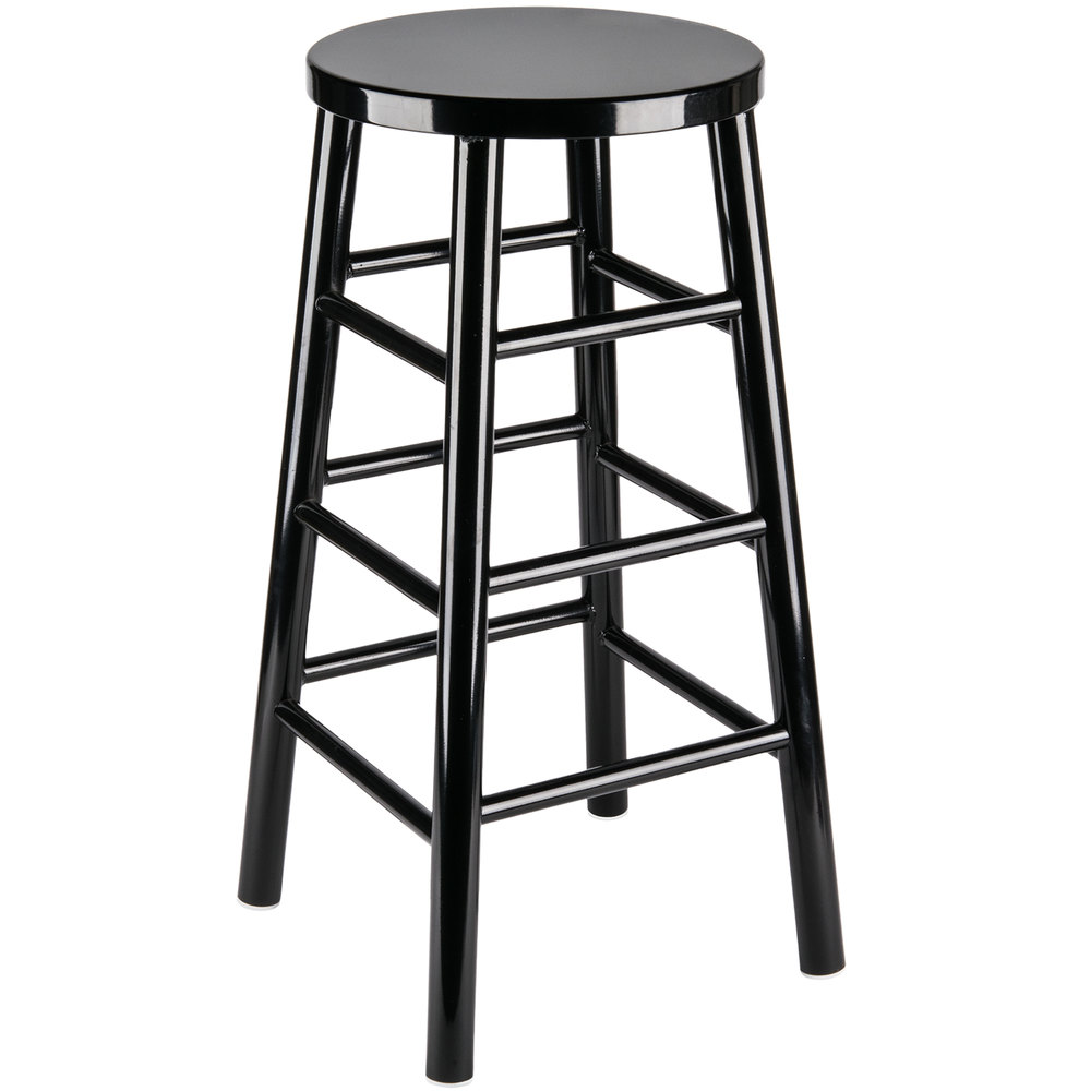 ... Black Metal Barstool. Main Picture ...  sc 1 st  Webstaurant Store & Lancaster Table u0026 Seating Spartan Series 30