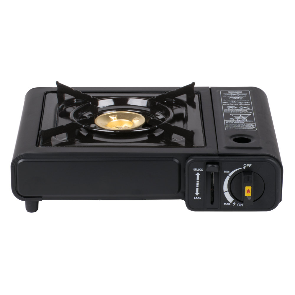Countertop Gas Stove Portable : ... Butane Countertop Range / Portable Stove with Brass Burner - 8,000 BTU