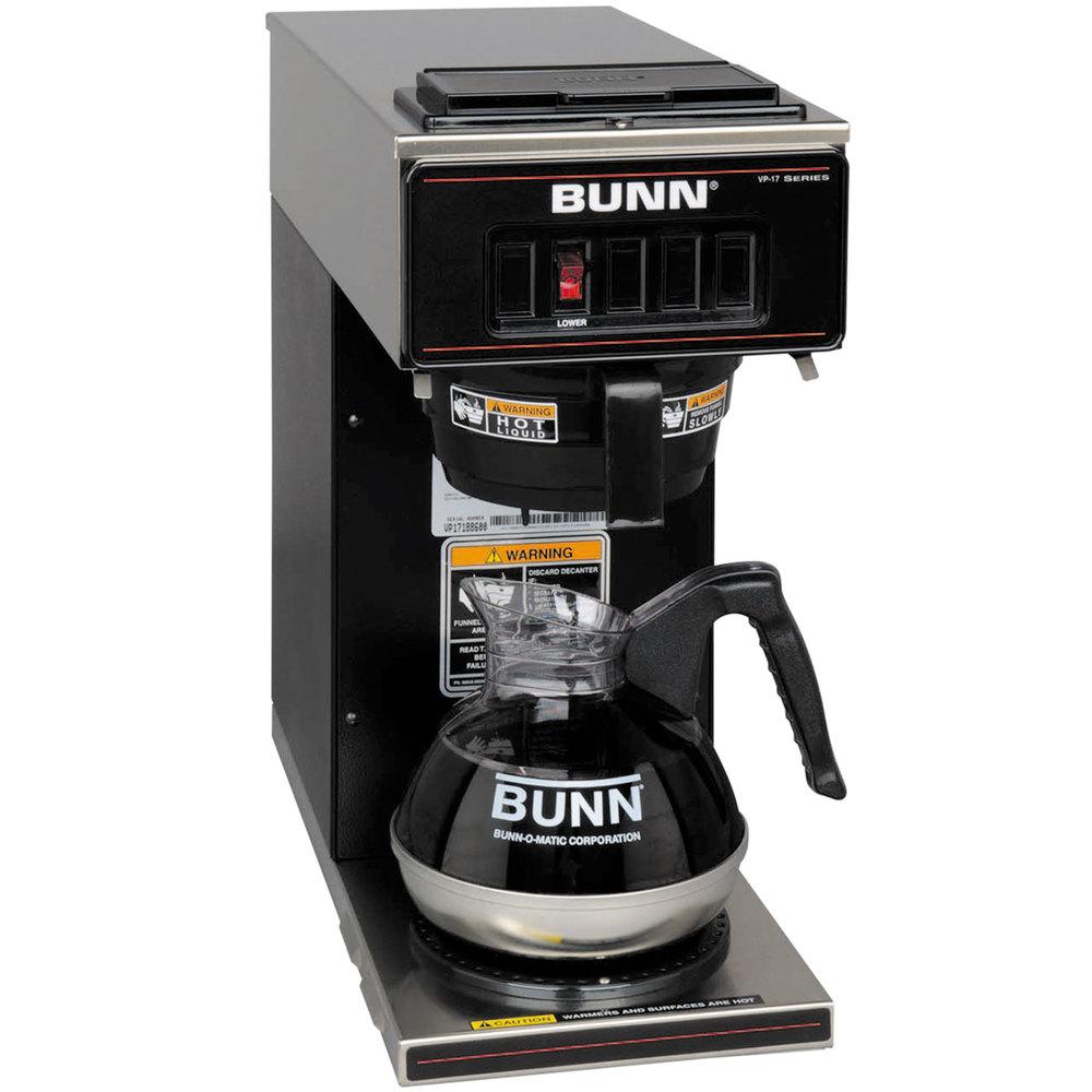 Bunn Coffee Makers Water Line Hook Up