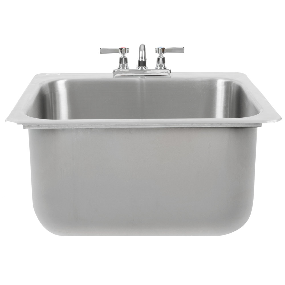Advance Tabco DI 1 2012 Drop In Stainless Steel Sink   20 Inch X ...