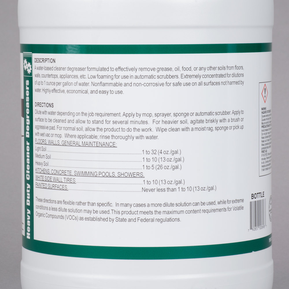Noble Chemical 1 Gallon / 128 oz. Strike All Purpose Cleaner ...