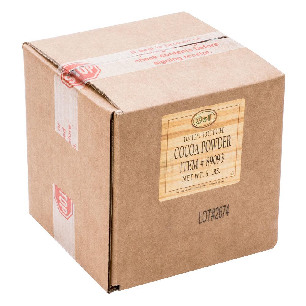 Dutch Cocoa Powder - 5 lb   Bulk Cocoa Powder