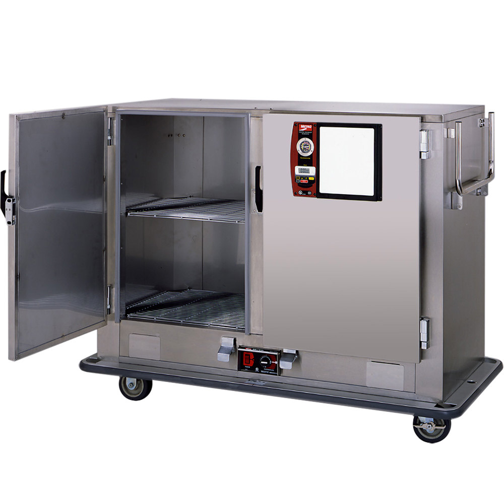 Metro Mbq 120d Qh Insulated Heated Banquet Cabinet Two