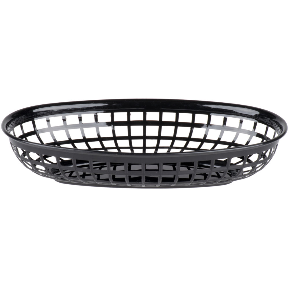 black food basket