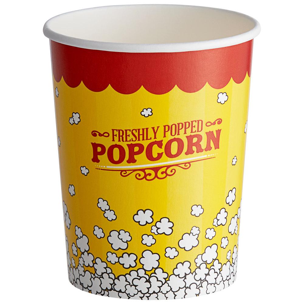 Carnival King 32 oz. Popcorn Cup - 500/Case