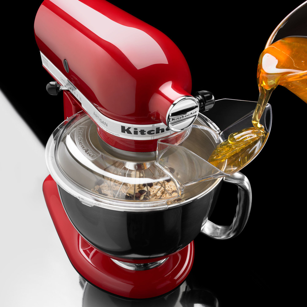 Kitchenaid Kn1ps Pouring Shield For Stand Mixers