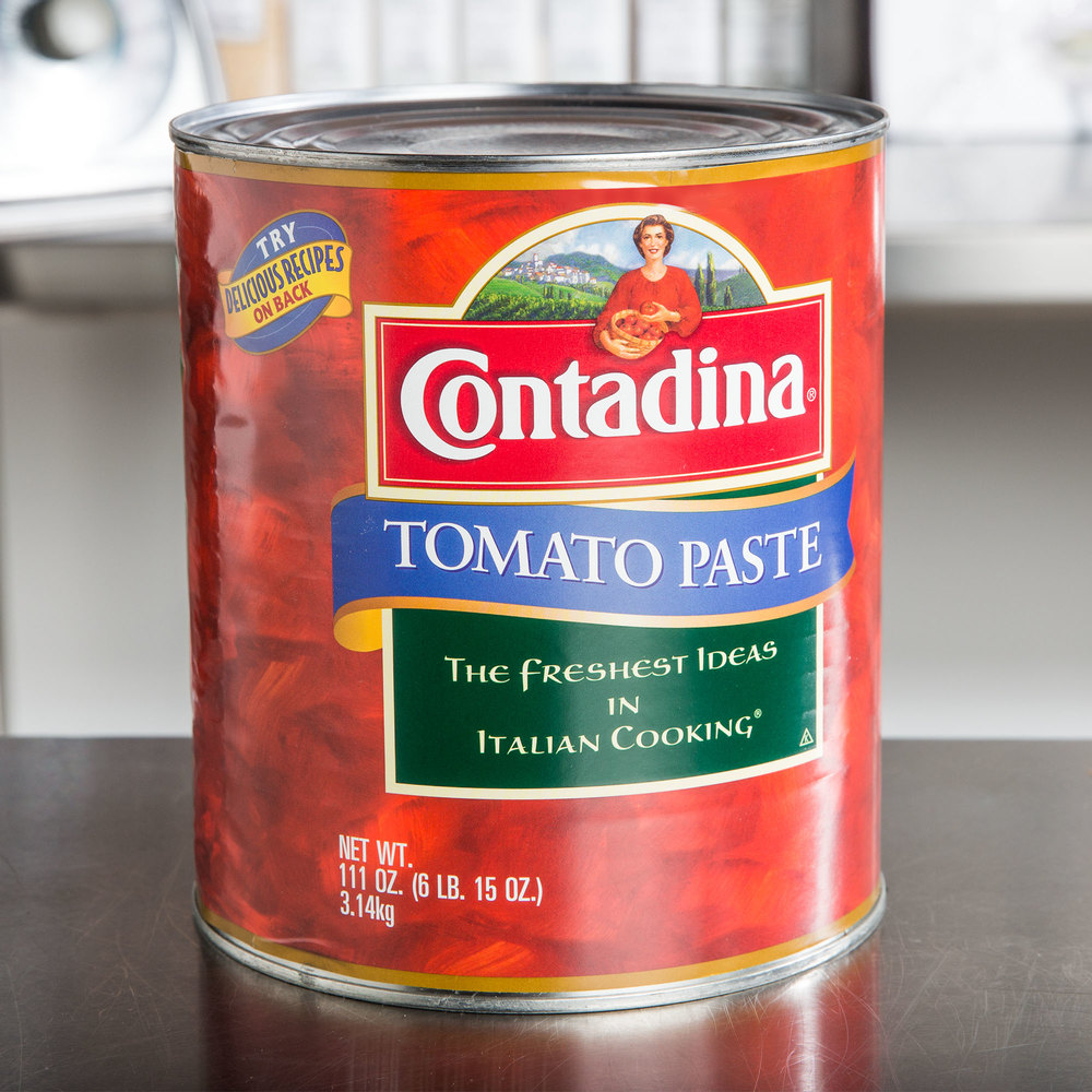 tomato paste If you are at the end of your fresh tomato supply and you have canned, juiced, dried and enjoyed tomatoes until you can't look at another tomatowait i have.