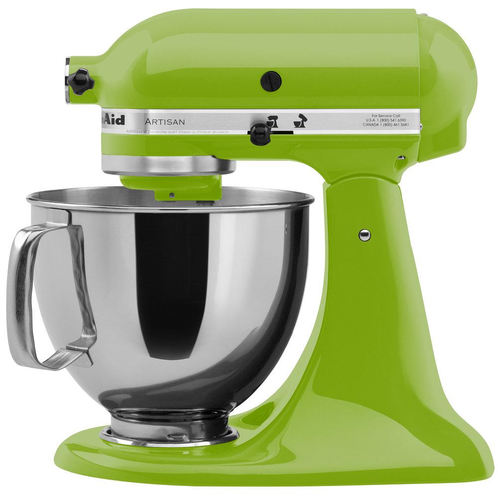 KitchenAid KSM150PSGA Green Apple Artisan Series 5 Qt. Countertop .