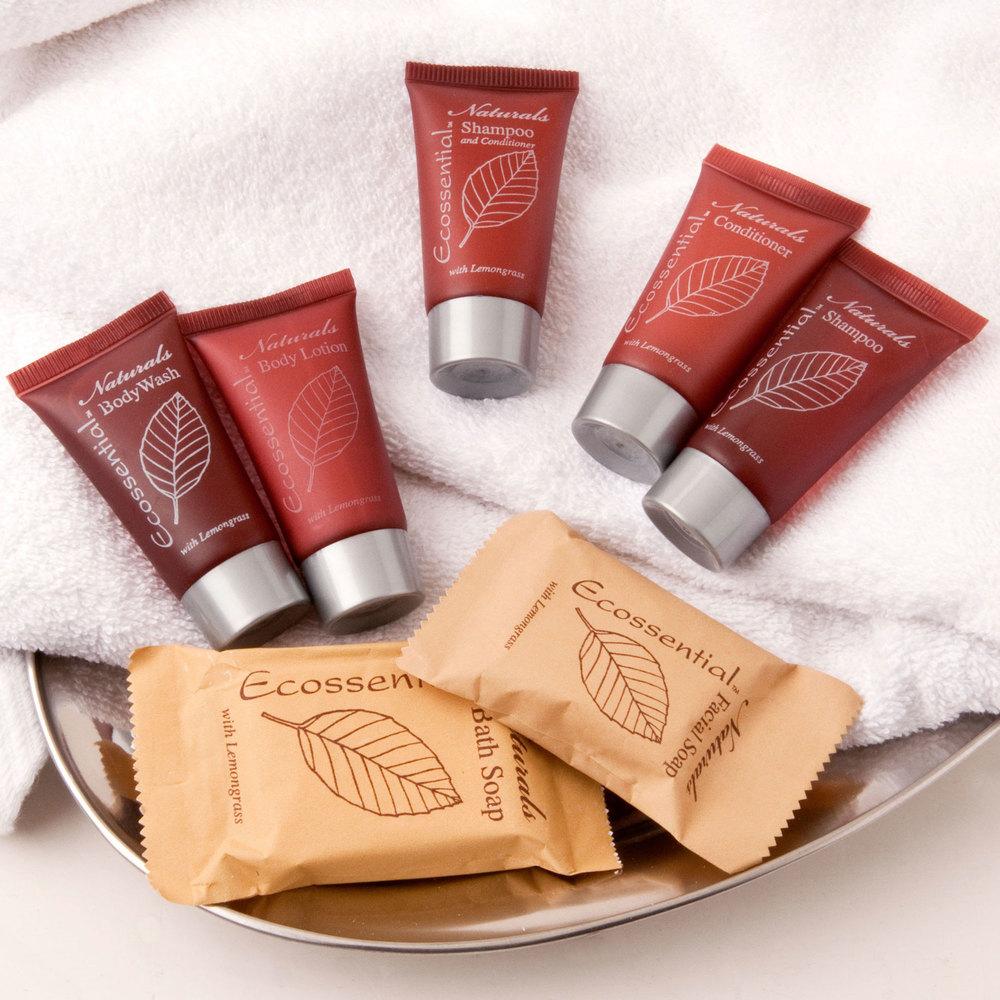 Ecossential naturals hotel and motel bath soap oz for Motel one shampoo