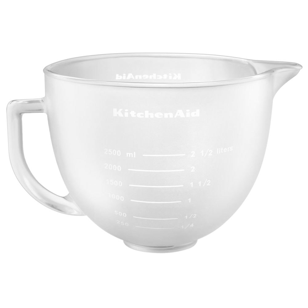 Kitchenaid K5gbf Frosted 5 Qt Mixing Bowl With Handle And Lid For Stand Mixers