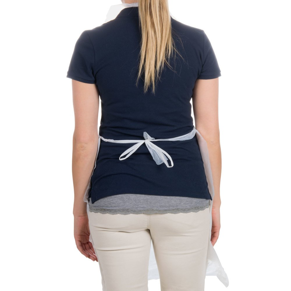 White disposable apron - Video Video Main Picture Image Preview