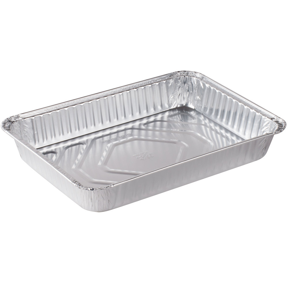 Durable Packaging 4700 35 13 Quot X 9 Quot Foil Cake Pan 250 Case