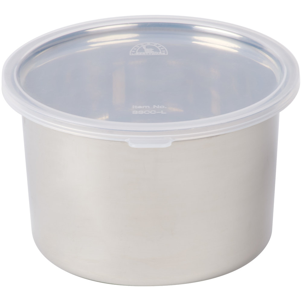 Shop 1 5 Qt Stainless Steel Food Storage Container With