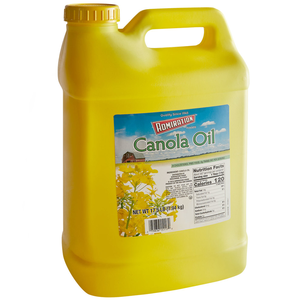 Jug of Admiration vegetable oil