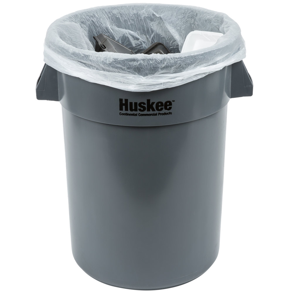 55 gallon 16 micron 38 x 60 olympian high density can liner trash bag 200 case. Black Bedroom Furniture Sets. Home Design Ideas