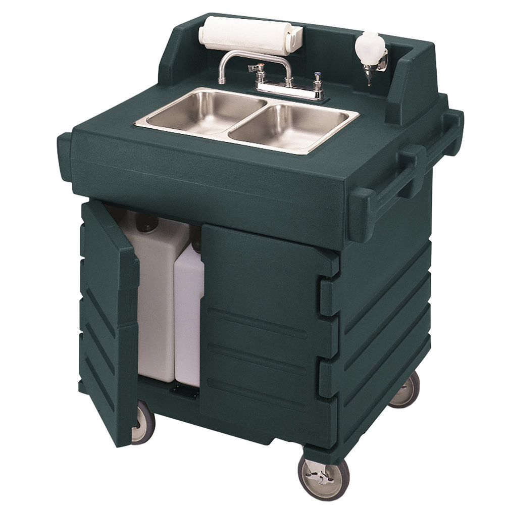 Cambro Ksc402519 Green Camkiosk Portable Self Contained