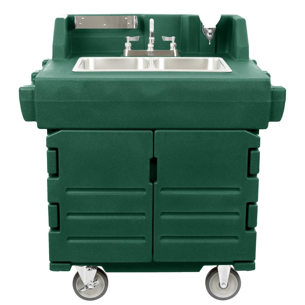 Cambro Ksc402519 Green Camkiosk Portable Self Contained