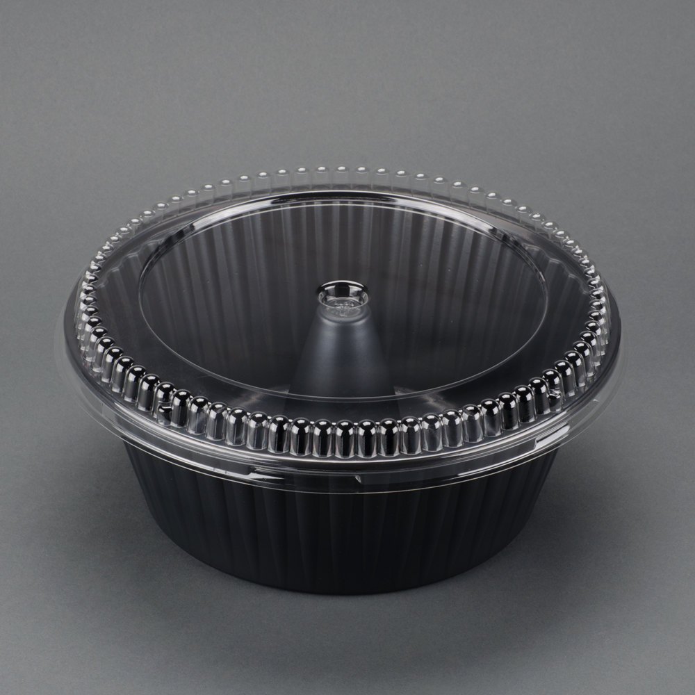 10 Quot Genpak 55a10 Bake N Show Angel Food Cake Pan With Lid