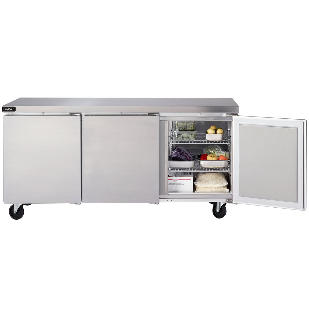 Delfield gur72p s 72 undercounter refrigerator with 5 casters main picture image preview asfbconference2016 Choice Image